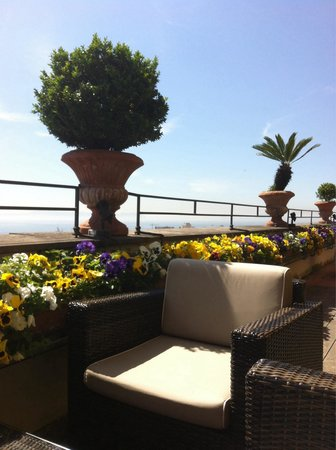 Hotel San Francesco al Monte: Terrazza