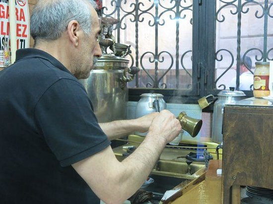 Mandabatmaz: Every order is prepared individually. The old way