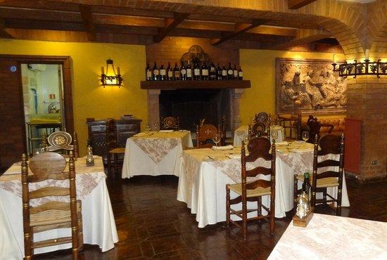 Hotel Santa Cruz: Restaurant