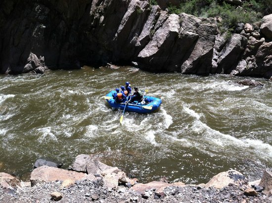 Best Western Canon City: Rafting the gorge