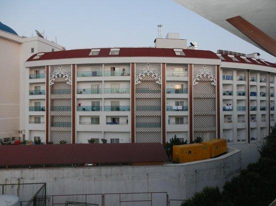 Horus Paradise Luxury Resort: вид из номера 5301