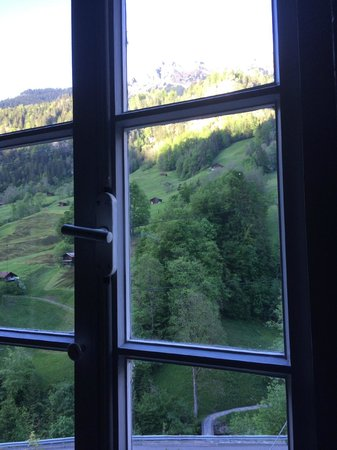 Hotel Steinbock : View from the stair windows...beautiful!