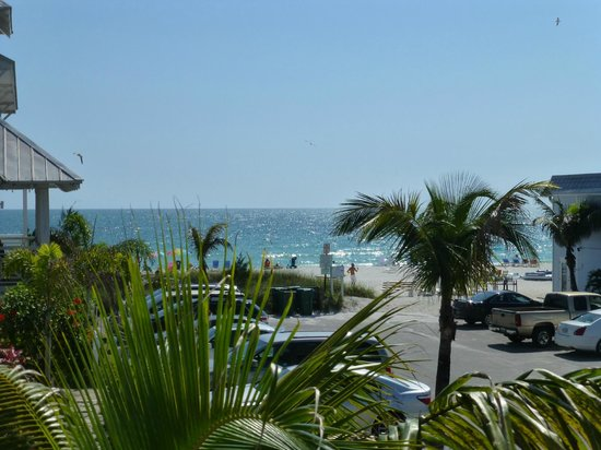 Mainsail Beach Inn: View from our house