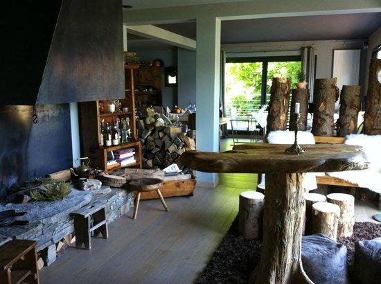 Chalet Christine : salle à manger cosy
