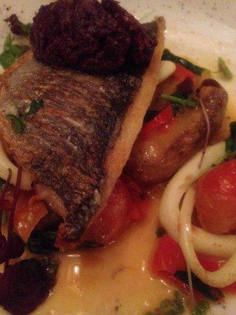 Whitefriar Grill: Seabream--yum