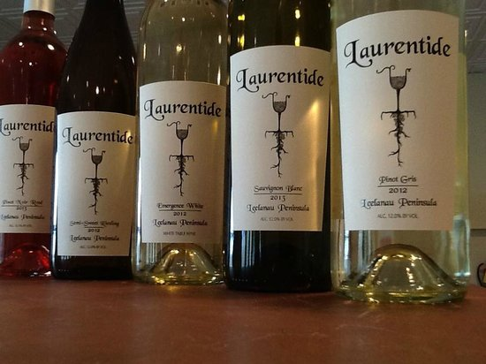 Lake Leelanau, MI: Award winning wines including Sauvignon Blanc
