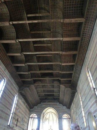 Chiesa degli Eremitani: le plafond