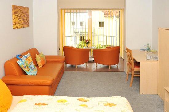 Kaisers Ostseeperle: Doppelzimmer Loggia