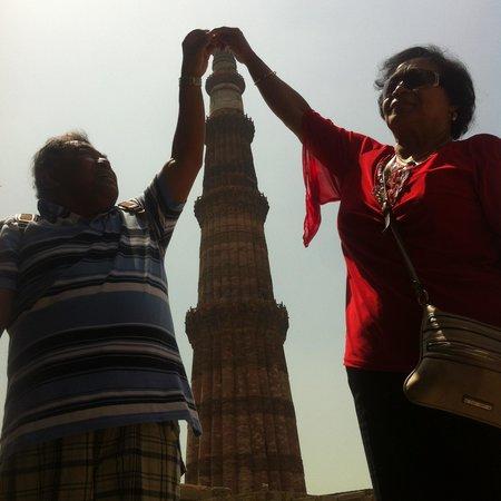 Anila Hotels: Qutub Minar