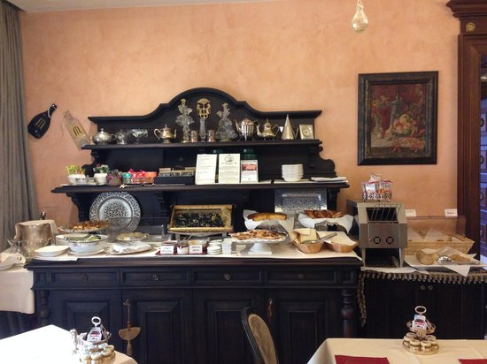 Hotel Moresco : Breakfast room