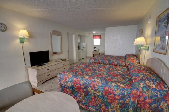 Atlantic Ocean Palm Inn : Large efficiency with partial ocean view