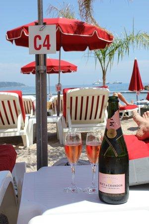 La Rose des Vents: Вид на пляж
