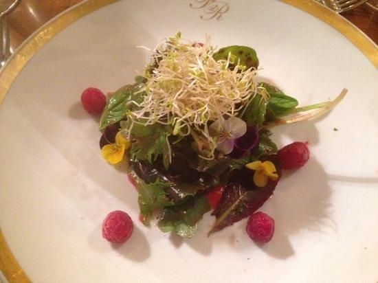 Heising: fresh salad