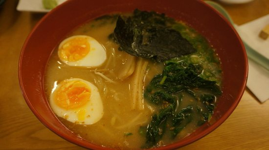 Udonya Restaurant: 味噌ラーメン(Miso Ramen)