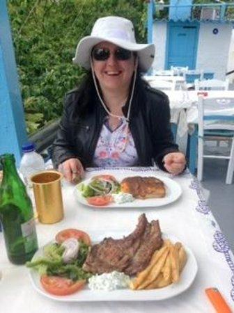 Taverna Zia No Stress: обед
