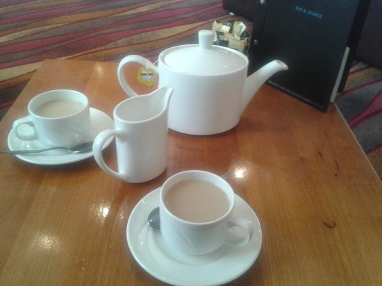 Hilton Blackpool Hotel: decent sized pot of tea