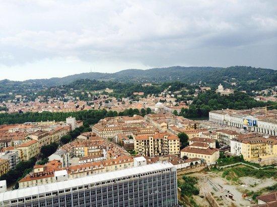 Mole Antonelliana : Vista dall'alto