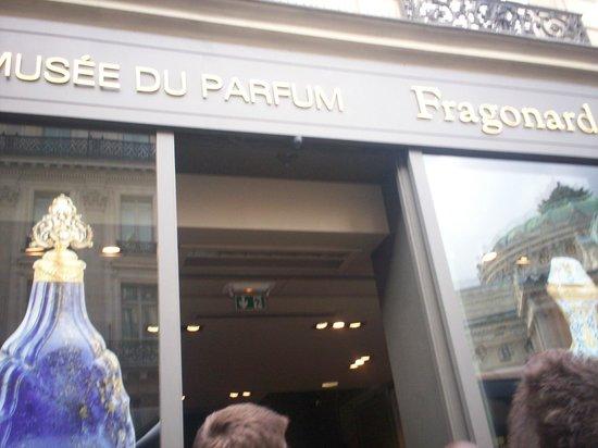 Fragonard Scribe Museum: Το άρωμα έχει το όνομα fragonard..