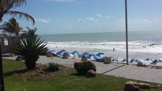 Elegance Ponta Negra Flat Beira Mar: Frente piscina