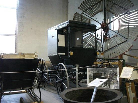 BC Farm Museum: Old hearse