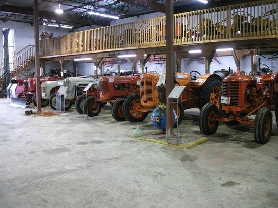 BC Farm Museum: Old tractors