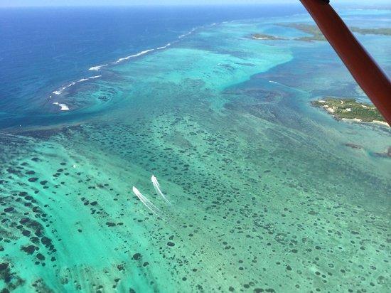 Island Wings Mauritius : Au large de Grand Baie