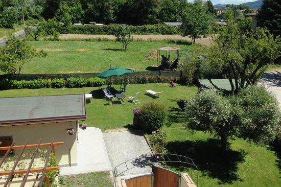 Il Giardino dei Poeti: Vista sul giardino