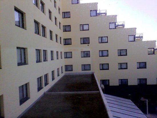 Inter Hotel Alteora site du Futuroscope: La vue de notre chambre