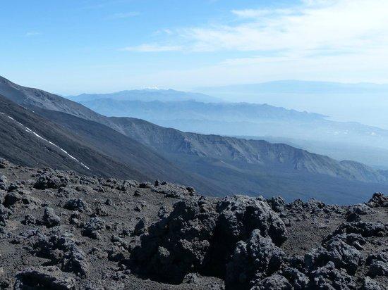 Funivia dell'Etna: Etna 2, vers le Nord Est