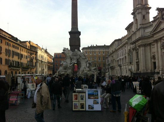 Hotel Navona : Piazza Navona