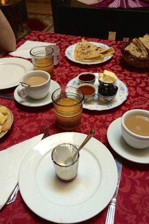 Africa Aventuras : Desayuno en riad Marrakech