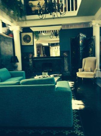 Rivera del Rio Boutique Hotel: Lounge