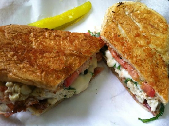 Brownstone's Grill- Sub And Salad Factory: Chicken Bacon Ranch Panini