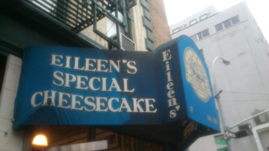 Eileen's Special Cheesecake: sign
