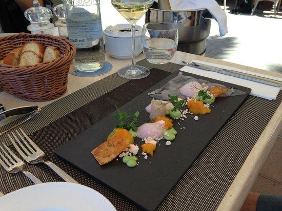 Restaurante Es Passeig: Lobster starter