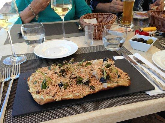 Restaurante Es Passeig: Goose smoked pate WOW Starter