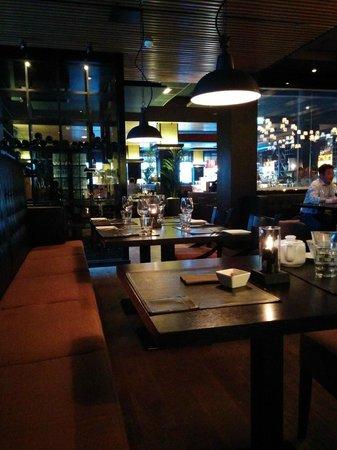 Stefan's Steakhouse, Helsinki: The tables at Stefan's