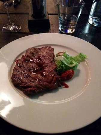 Stefan's Steakhouse, Helsinki: My rib eye