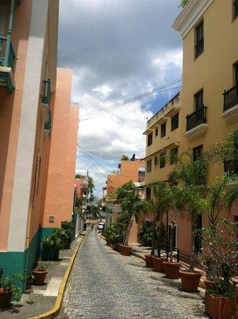 Hotel El Convento: View down the street