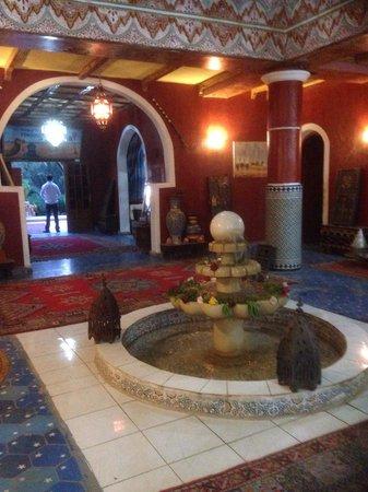 Les Jardins de Ouarzazate: Reception area