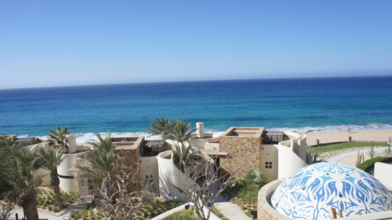 The Resort at Pedregal: View from our room building 3