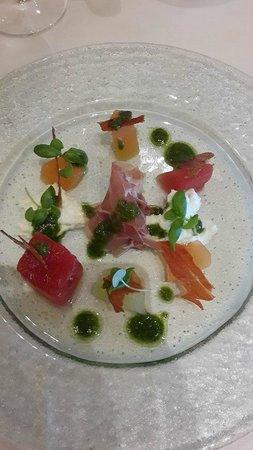 Dovecote Restaurant: Melon Starter - First class