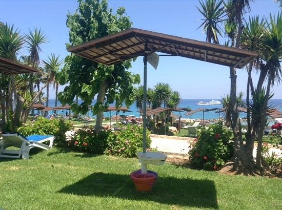 Cavo Maris Beach Hotel: view from the terrace