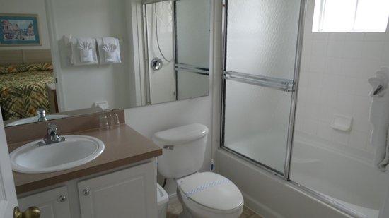 Hapimag Resort Orlando: Hauptbadezimmer