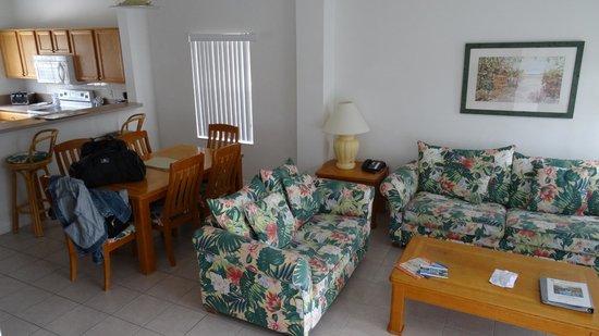 Hapimag Resort Orlando: Wohnzimmer