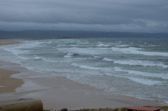 Lookout Deck: Vista do deck do restaurante Lookout para a imensidão do Oceano