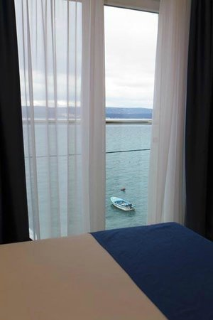 Hotel Pleter: View from room (sea side)