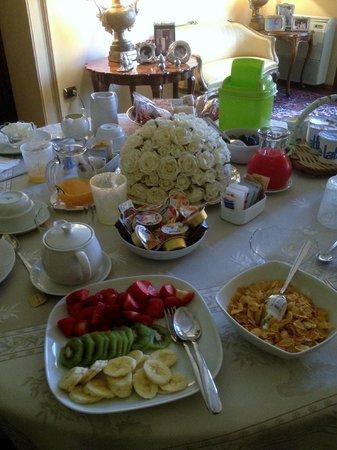 B&B Palazzo Salgari: prima colazione