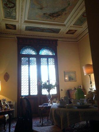 B&B Palazzo Salgari: sala colazione 1