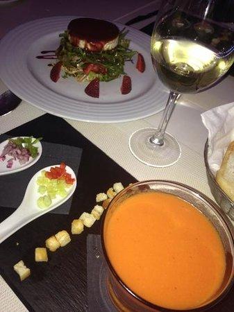 Restaurante Randemar : gazpacho
